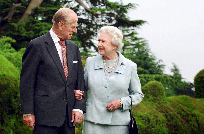 2007 - Die Queen ist ist seit 1947 mit Prinz Philip verheiratet.