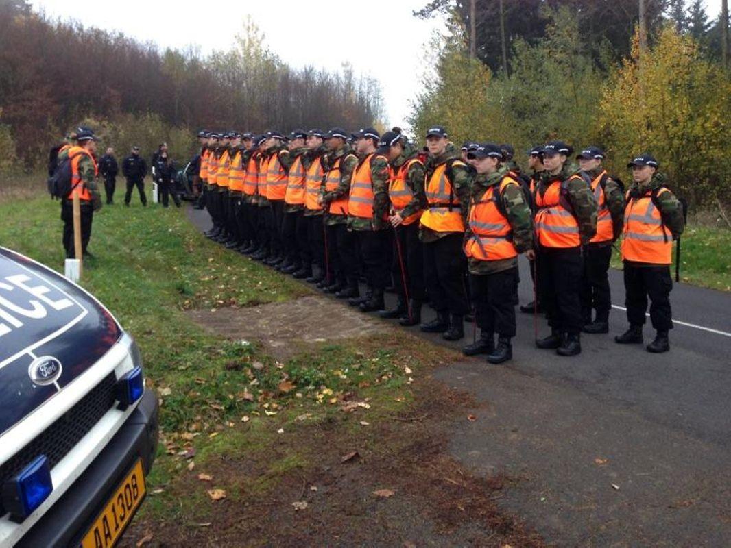 Die Suchaktion am Dienstagnachmittag mobilisierte rund 250 Beamte und Helfer.