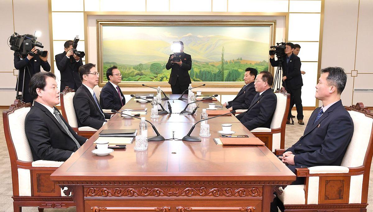 Vertreter der beiden Korea-Nationen haben einige Vorschläge für die Winterspiele gemacht.