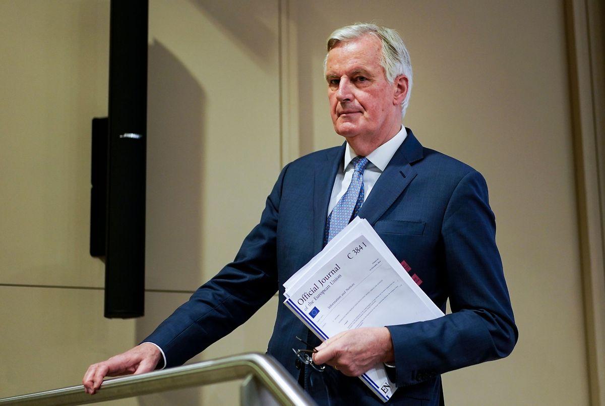 """Michel Barnier: """"Zollformalitäten unvermeidlich"""""""