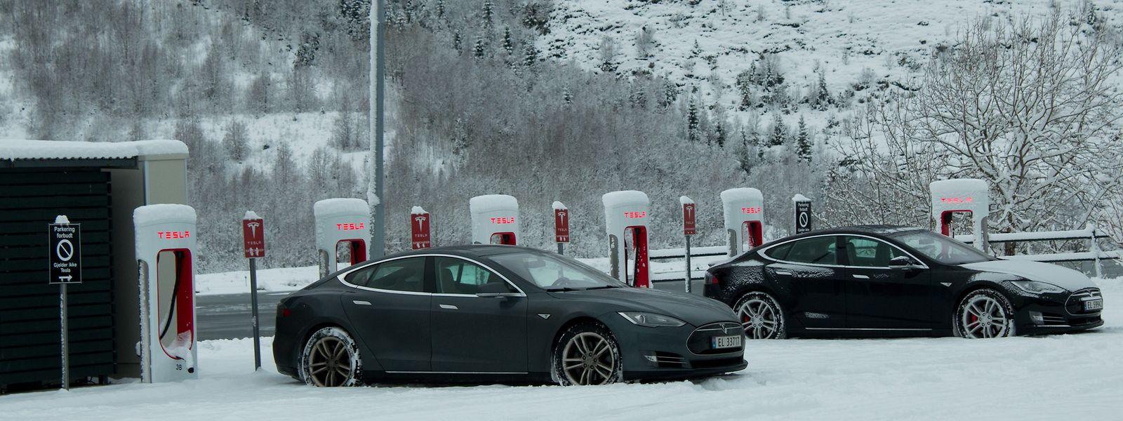 En 2017, un véhicule sur deux vendu en Norvège était une voiture électrique.
