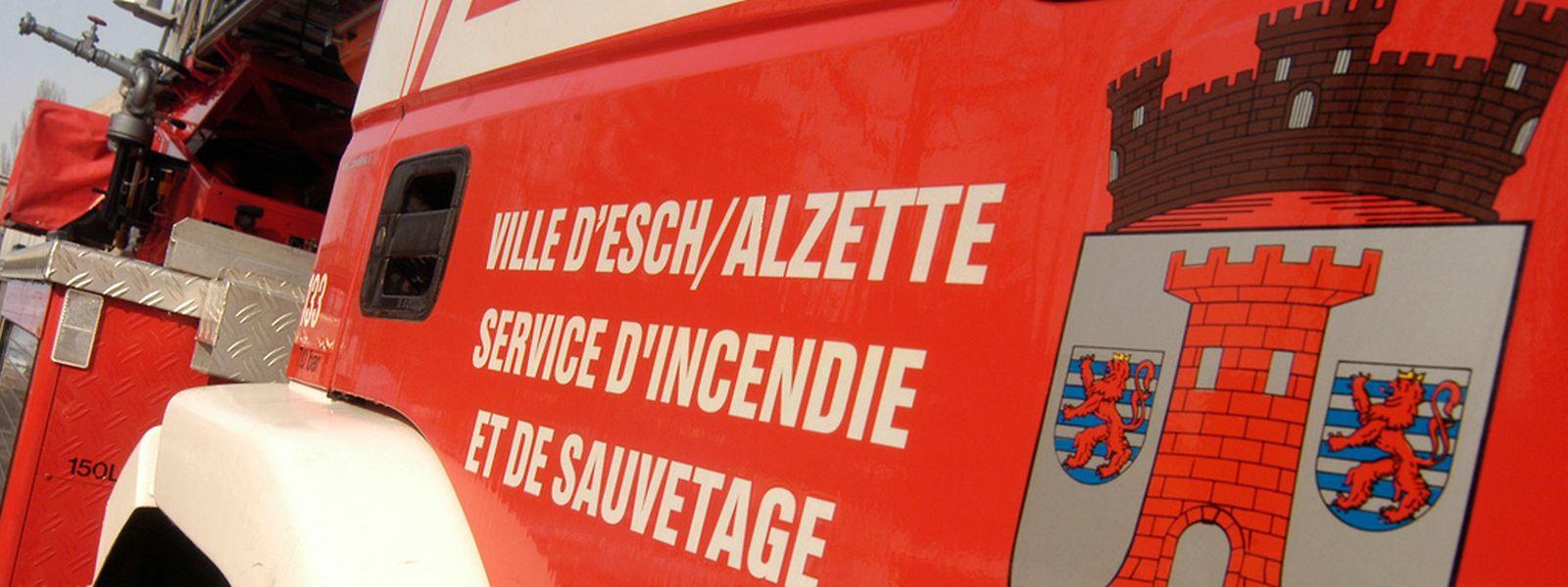 Die Feuerwehr Esch/Alzette musste um 1 Uhr nachts ausrücken.