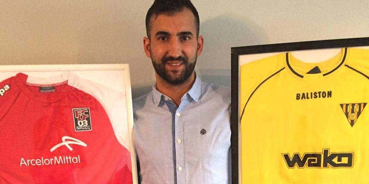 Bruno Ribeiro a gardé deux des maillots qu'il a portés, mais son cœur est davantage rouge.