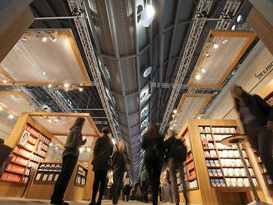 Die Frankfurter Buchmesse ist die weltgrößte Bücherschau mit mehr als 7000 Ausstellern.