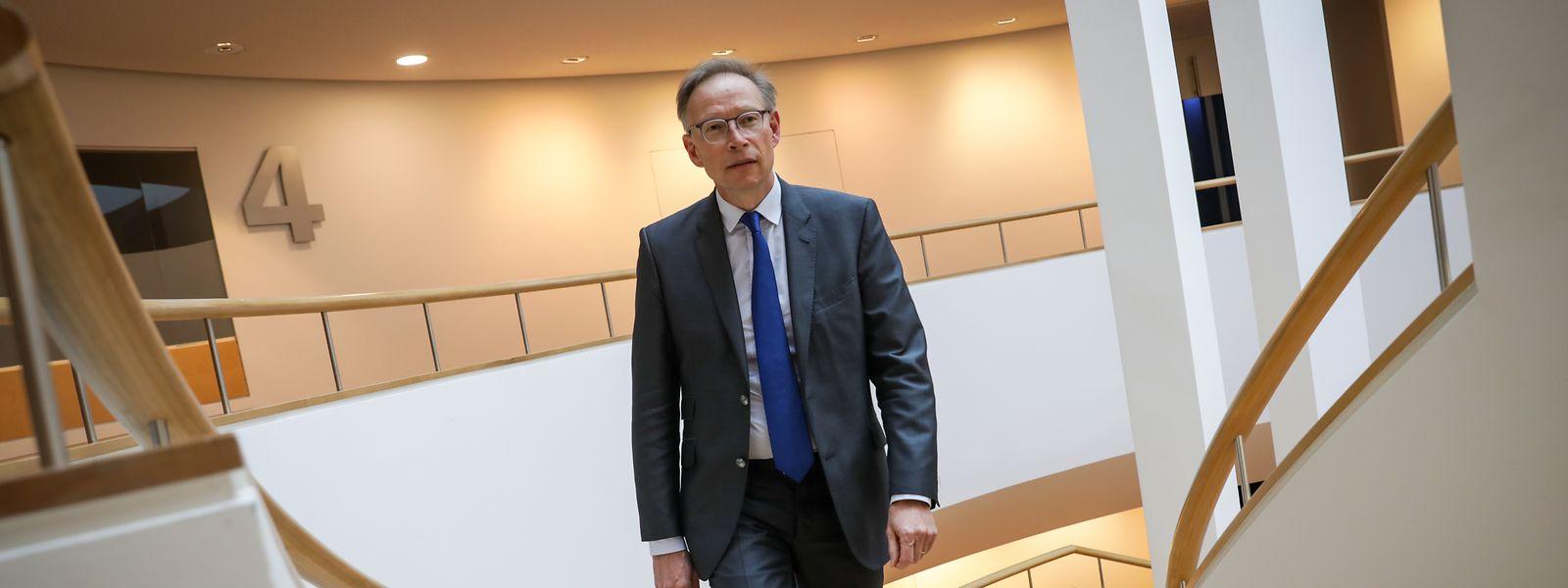 Geoffrey Bazin, CEO de BGL BNP Paribas.