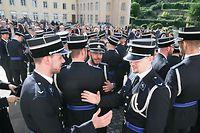Lors de la cérémonie d'assermentation de la 15e promotion inspecteurs de la police grand-ducale.