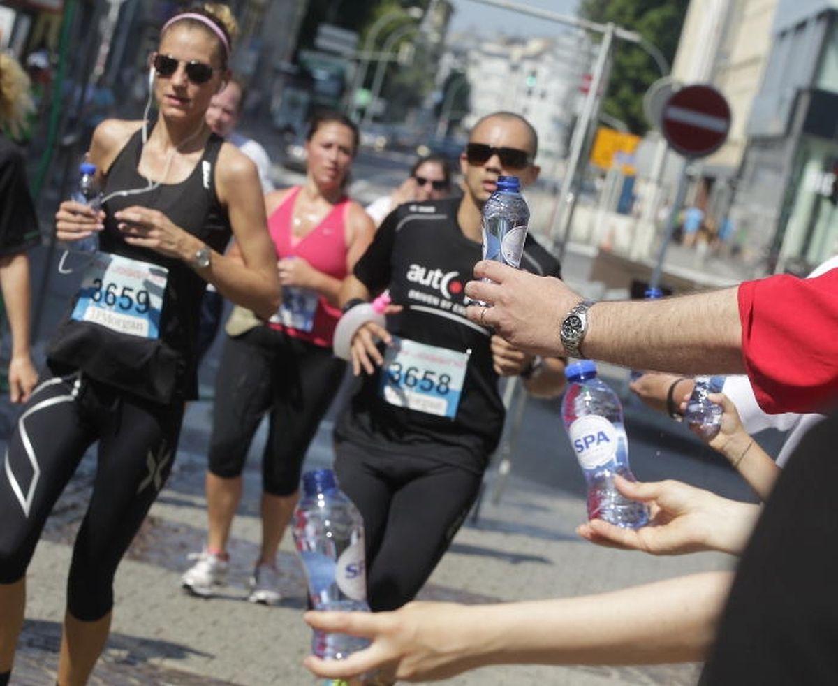 Les coureurs devront veiller à bien s'hydrater avant et pendant la course