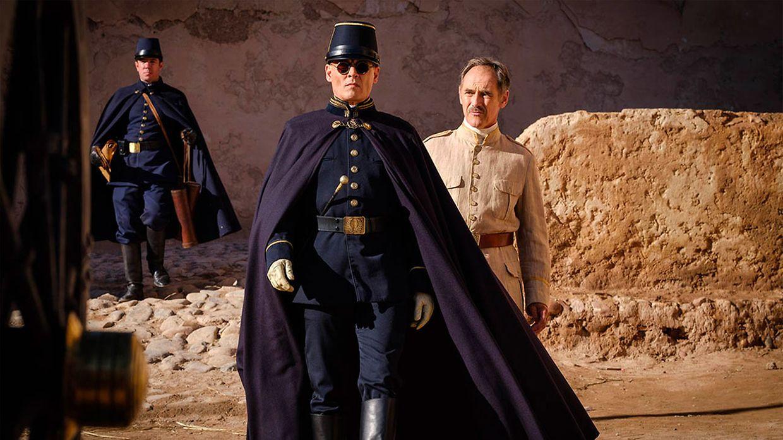 """Einer der Wettbewerbsfilme war """"Waiting for the Barbarians"""", das mit einem Drehbuch von Nobelpreisträger J. M. Coetzee und Johnny Depp in einer der Hauptrolle aufwartete."""