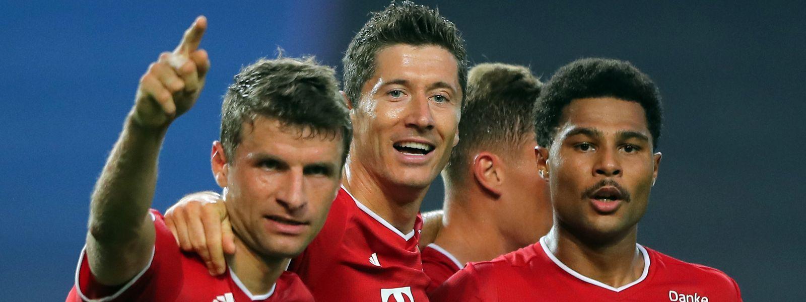 Avec Müller, Lewandowski et Gnabry, le Bayern Munich vise une sixième Ligue des champions