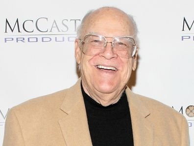 2011 photo shows actor David Huddleston at the 40th Anniversary Reunion Of ''The Waltons'' in Jersey City, New Jersey
