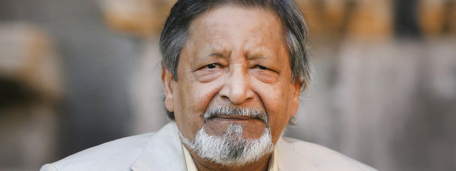 Der indische Schriftsteller Vidiadhar Surajprasad Naipaul 2008 während des Literaturfestivals in Rom. Der Autor sei im Alter von 85 Jahren am Samstag friedlich gestorben.