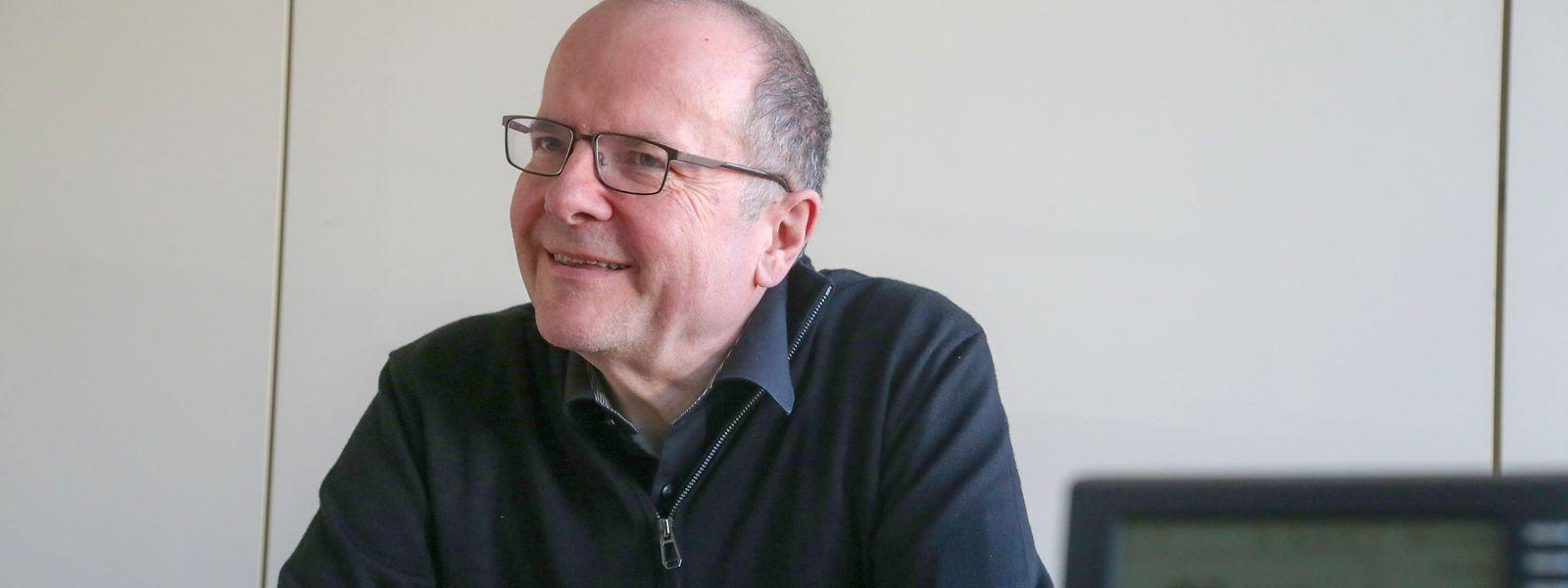 Marc Barthelemy ist seit etwas mehr als fünf Monaten Kommissar für die luxemburgische Sprache.