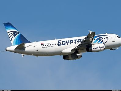 A file picture of EgyptAir Airbus A 320-200