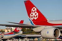 29.9.Findel / Flughafen Findel / Cargolux / Flugzeug Foto:Guy Jallay