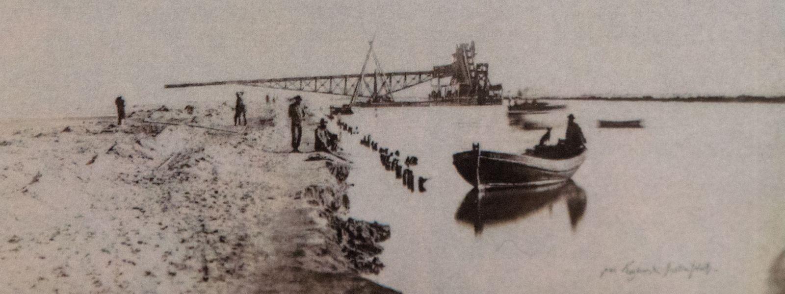 Vor 150 Jahren wurde der Suezkanal eingeweiht - zweieinhalb Jahre zuvor besuchte - und dokumentierte - der Luxemburger Tony Dutreux sie.