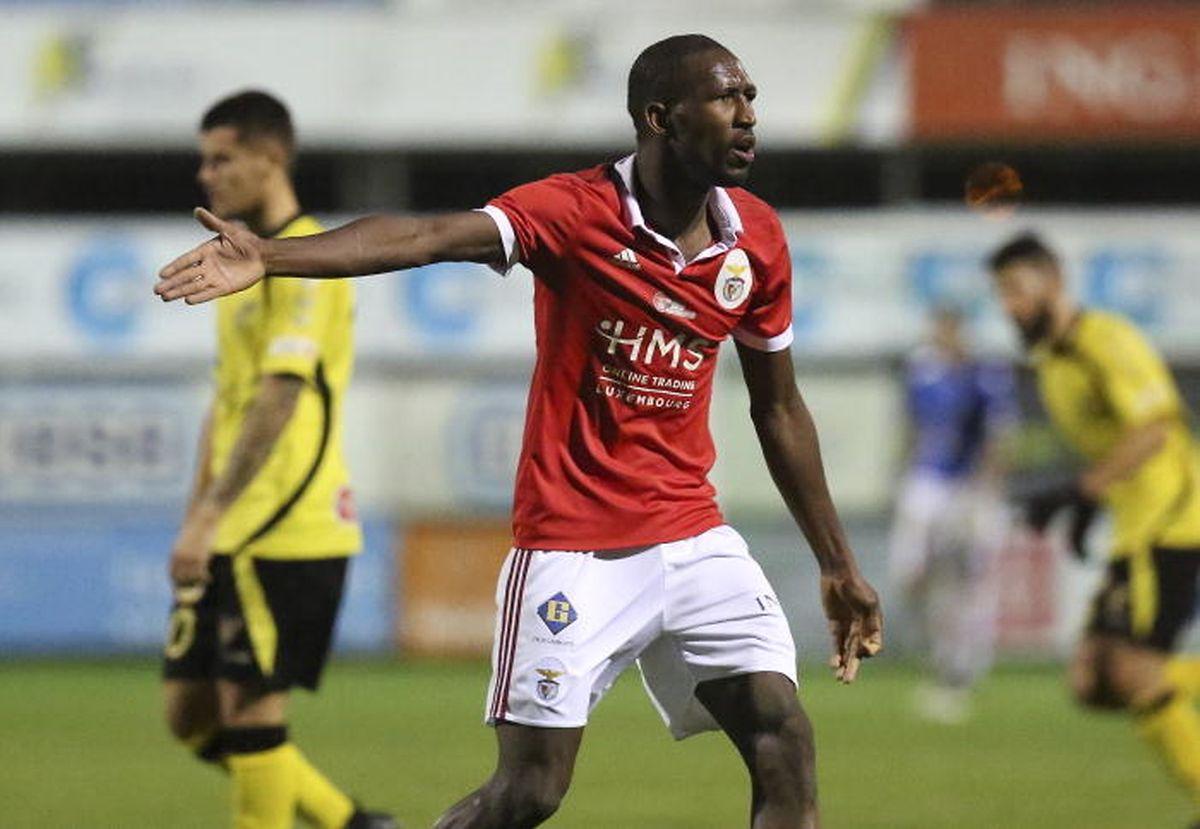 Eurico Gomes, sous les couleurs du RM Hamm Benfica, son ancien club