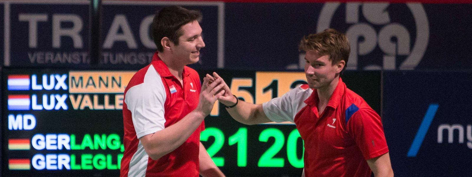 Die Erfahrung von Doppel-Spezialisten wie Mike Vallenthini (l., hier neben Robert Mann) wäre für die jungen Spieler extrem wertvoll.
