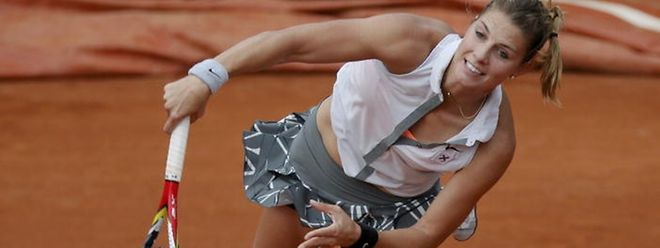 Mandy Minella unterlag Teliana Pereira im Achtelfinale.