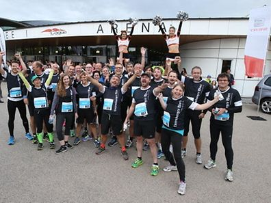 The Luxemburger Wort team at the 2015 Business Run