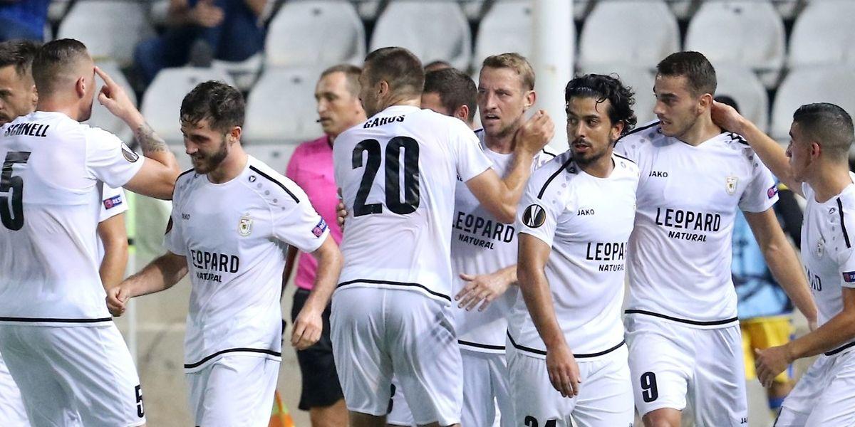 Les Dudelangeois ont joué avec le feu sur le terrain de l'APOEL Nicosie avant de décrocher un succès mérité.