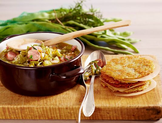 Bouneschlupp is a great one pot dish, with green beans as the star ingredient Photo: Stockfood