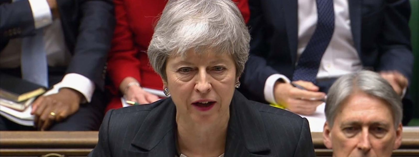 May stellte sich am Mittwoch einer Fragestunde im Unterhaus.