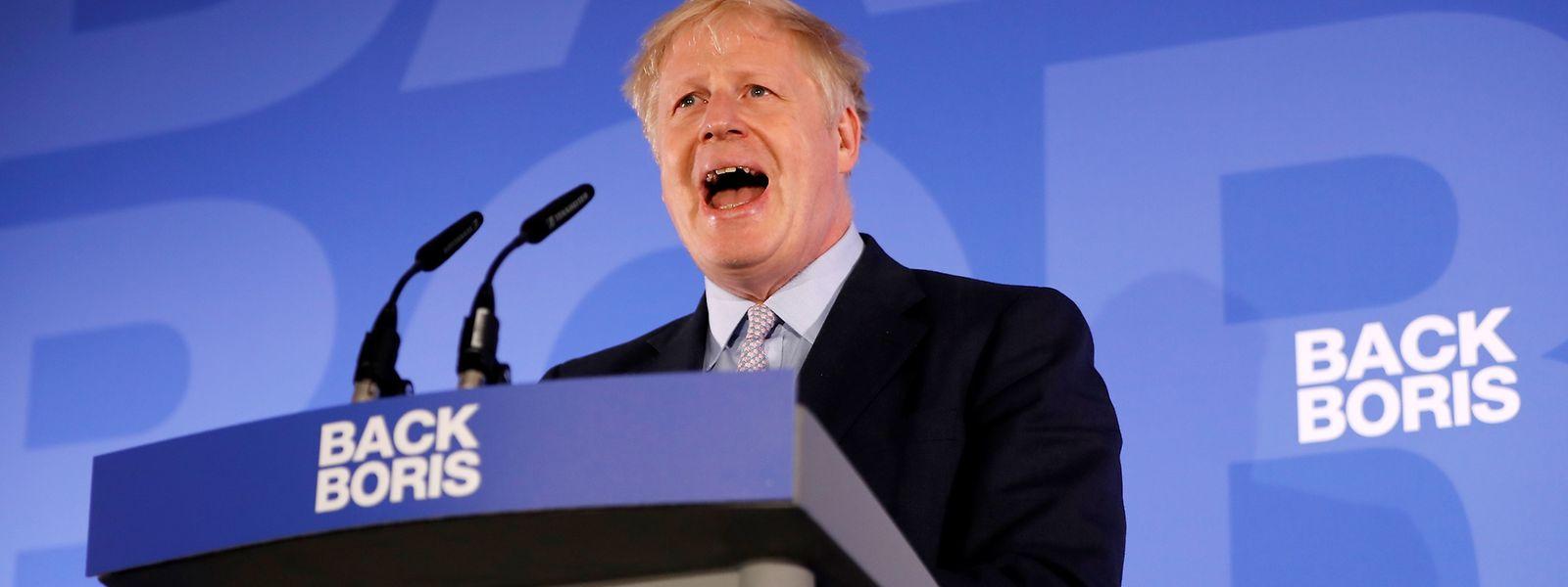 Boris Johnson compte renégocier l'accord de Brexit conclu en novembre entre Bruxelles et Theresa May.