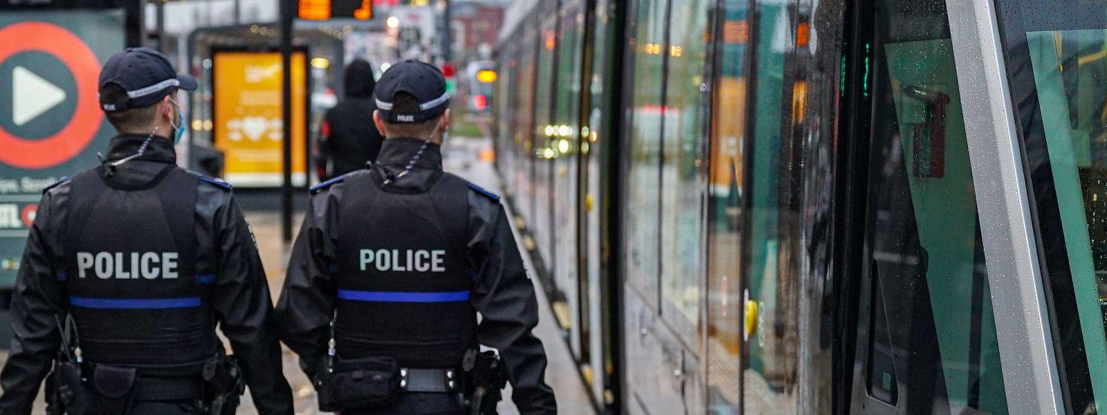 Neben Polizisten sind vom 15. Mai an auch erneut private Sicherheitsdienste in der Hauptstadt auf Patrouille.