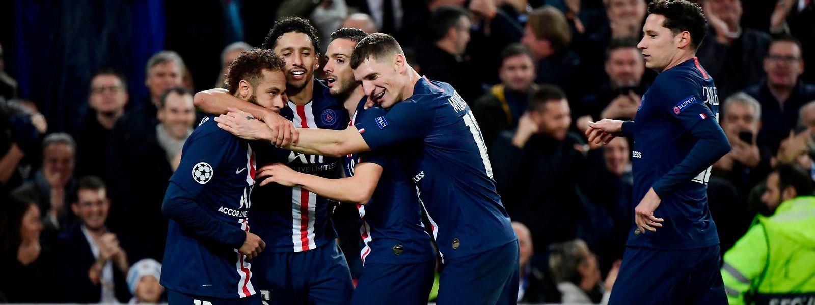 Paris SG dreht in Madrid ein 0:2.