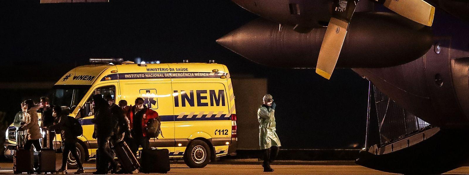 As 20 pessoas que chegaram a Portugal a 2 de fevereiro vindas de Wuhan quiseram voluntariamente estar de quarentena.