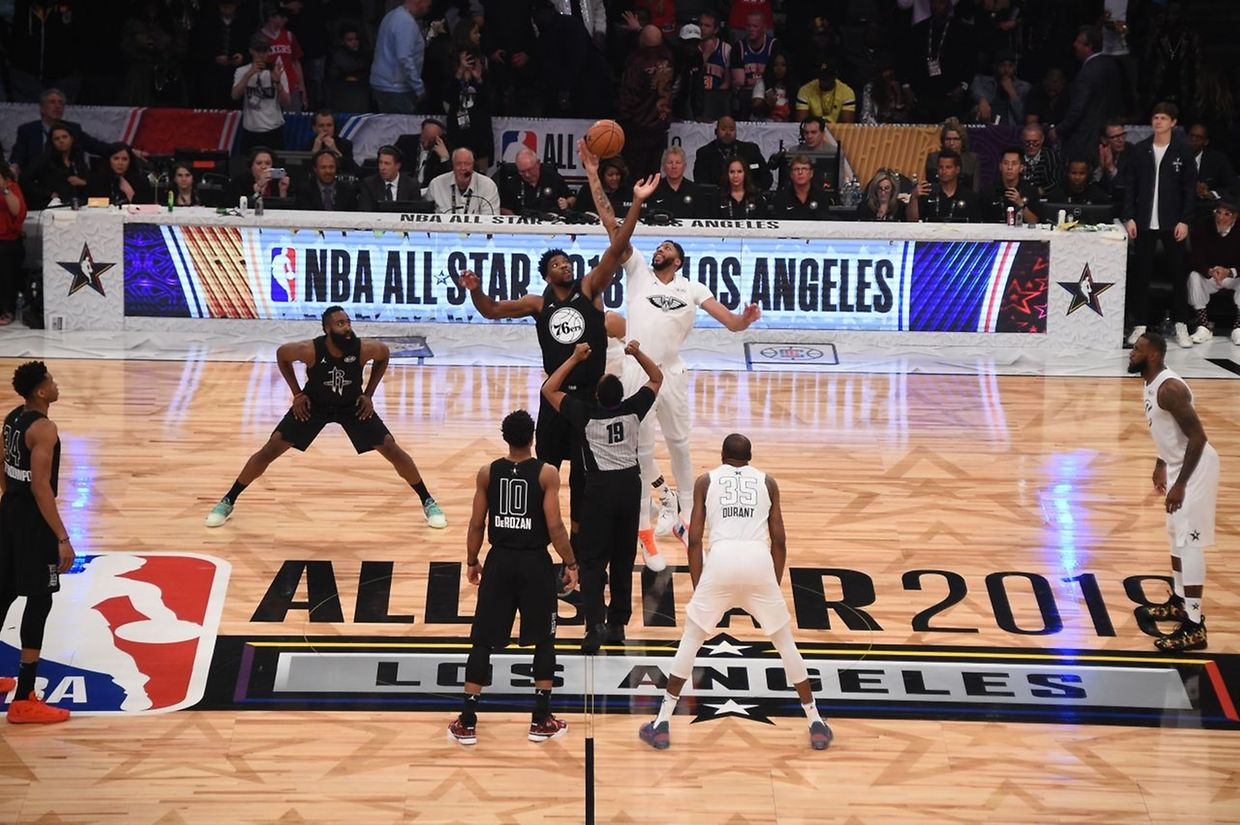 Le All-Star Game 2018 opposait la Team LeBron à celle de Stephen.