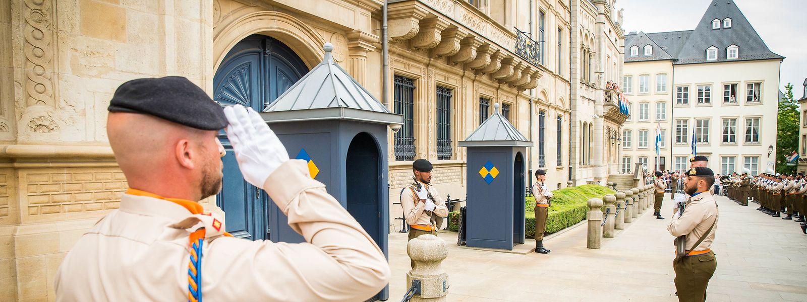 Im großherzoglichen Palais wurden am Mittwoch sechs neue Botschafter empfangen.