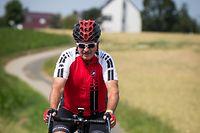 Unterwegs mit: .... Jean Asselborn und seinem Rennrad- Foto: Pierre Matgé/Luxemburger Wort