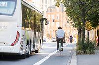 Lokales, Fahrradwege Stadt Luxemburg, Avenue Marie-Thérèse und Route d'Esch, Fahrrad, Velo, Mobilität, Foto: Lex Kleren/Luxemburger Wort