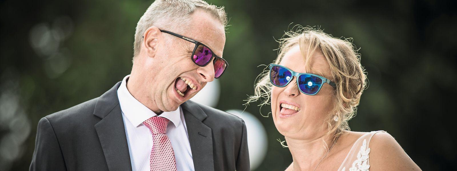 Für Mike Hut und Joëlle Muller war sehr schnell klar, dass sie heiraten werden.