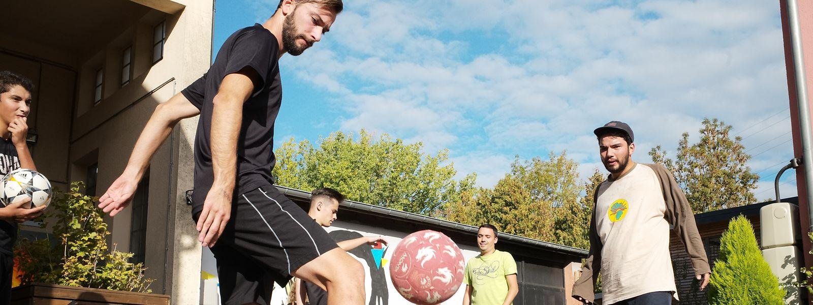 Freestyle Football stand auch auf dem Programm des Festivals.