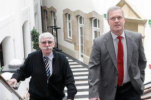Widersprüchliche Aussagen: Georges Zenners und Guy Stebens am Mittwoch vor der Verlesung des Protokolls ihrer Gegenüberstellung.