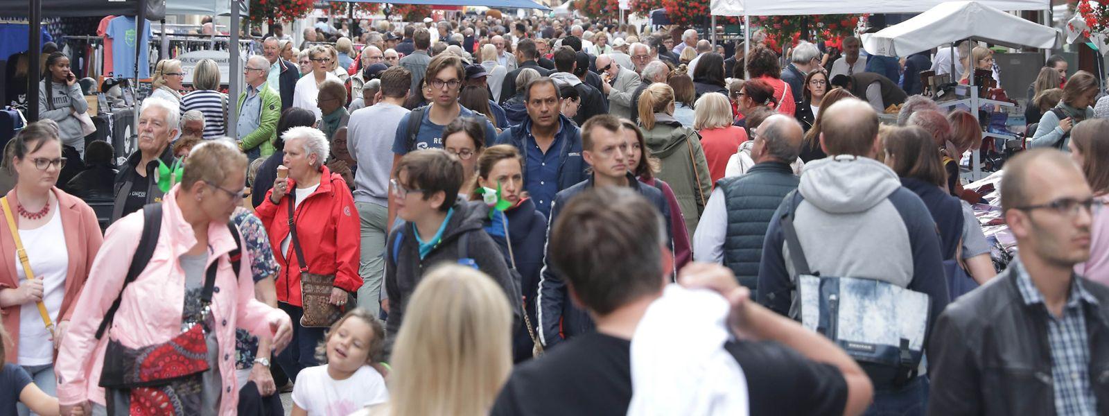 Cette 89e édition de la braderie a attiré beaucoup de visiteurs, selon les commerçants du centre-ville.