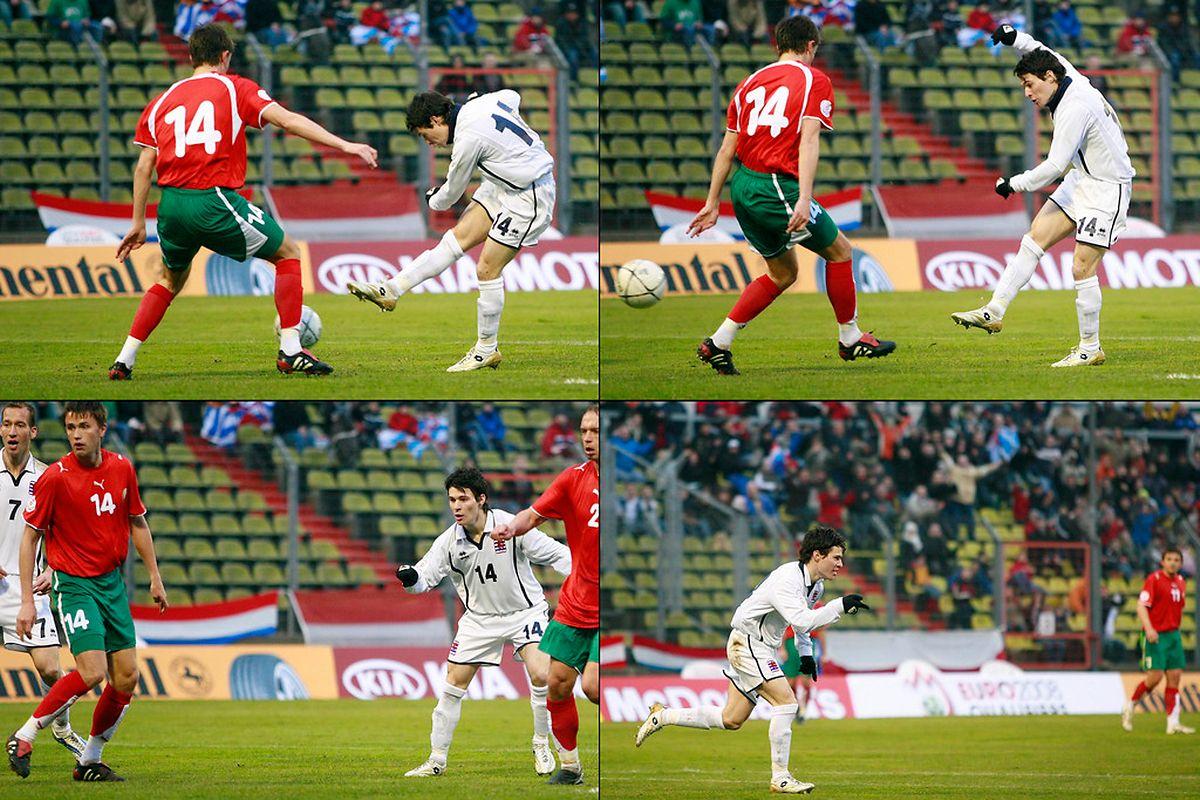 Le plus beau but de Chris Sagramola sous le maillot du Luxembourg contre la Biélorussie en 2007.