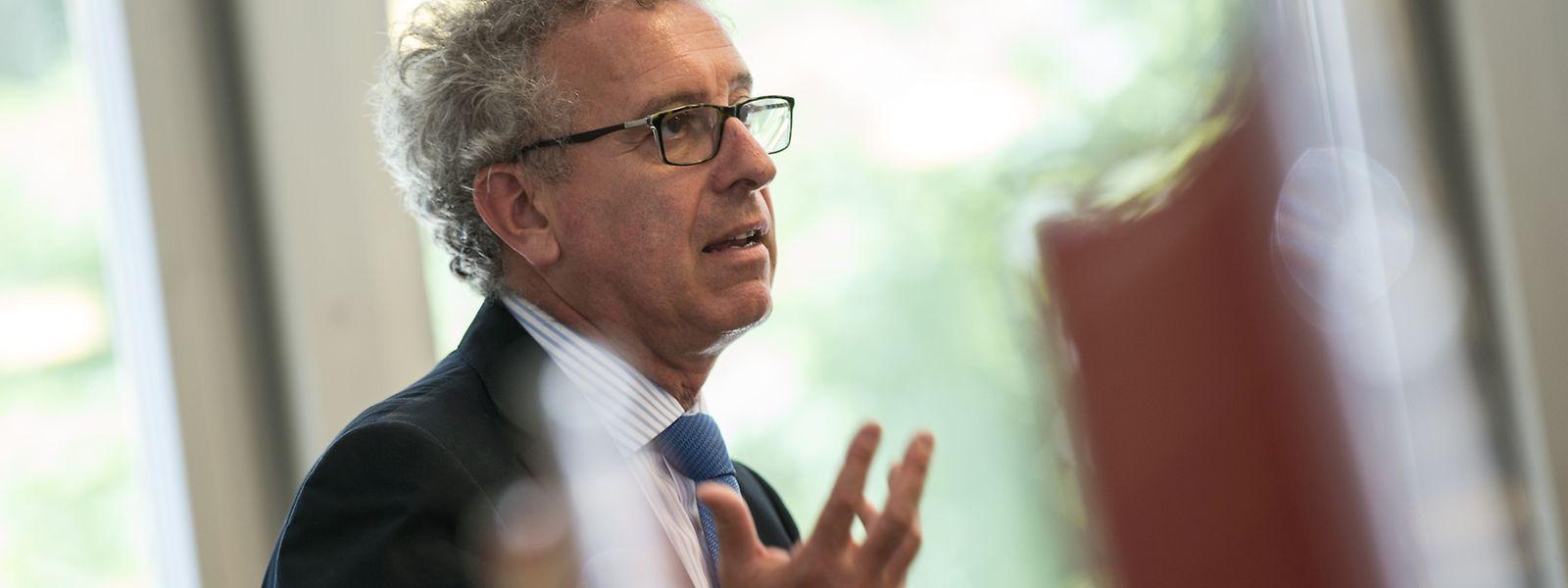 Finanzminister und Ecofin-Vorsitzender Pierre Gramegna sprach am Montag auf Einladung des EFTA-Gerichtshofes in Luxemburg-Kirchberg.