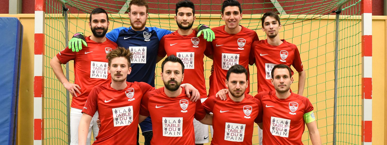Le groupe du 1. FC Gruefwiss Leudelange est prêt à intégrer le championnat de Ligue 2 en 2019-2020