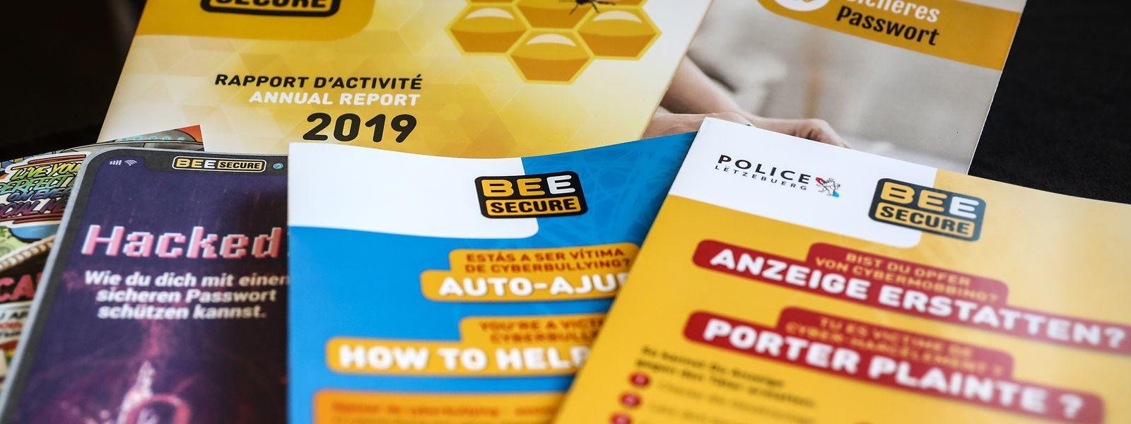 Die Initiative Bee Secure lanciert regelmäßig neue Ratgeber und Kampagnen, um die Internetnutzer aus Luxemburg über die digitale Welt aufzuklären.