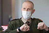 Wort.FR, Interview avec le Chef d'état major Steve Thull, Armée, Foto: Chris Karaba/Luxemburger Wort