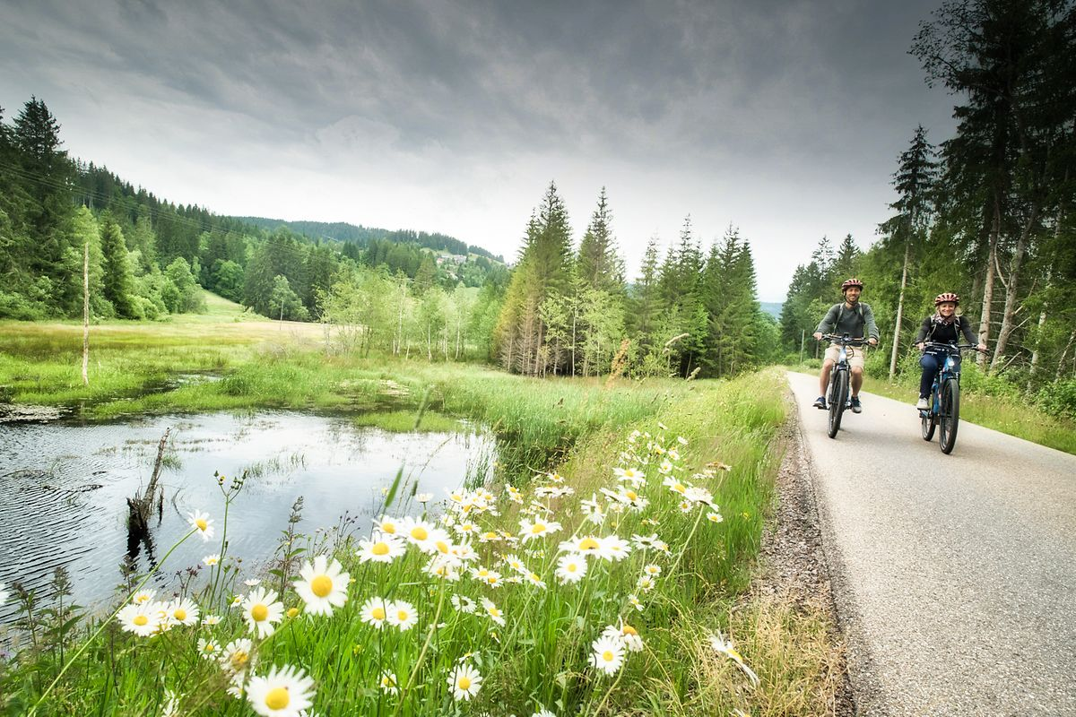Wer sich bewegen will, ist im Schwarzwald genau richtig. Neben dem Wandern steht auch E-Bike-Fahren hoch im Kurs.