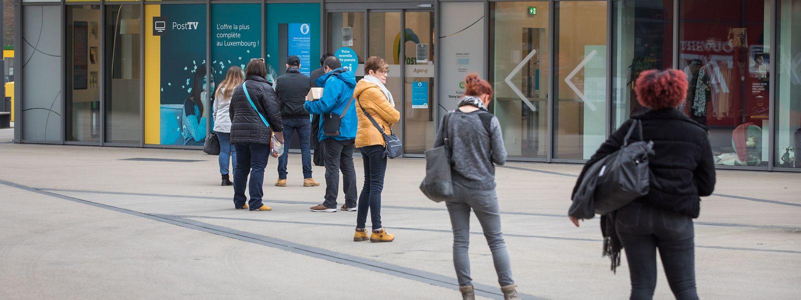 Die Menschen in Luxemburg sind diszipliniert und halten sich an die Social-distancing-Anweisungen der Regierung.