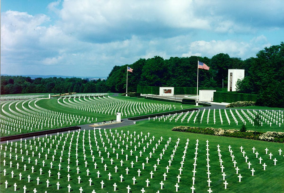 Luxembourg American Cemetery and Memorial is one of the Grand Duchy's most visited sites. Photo: LW Archives