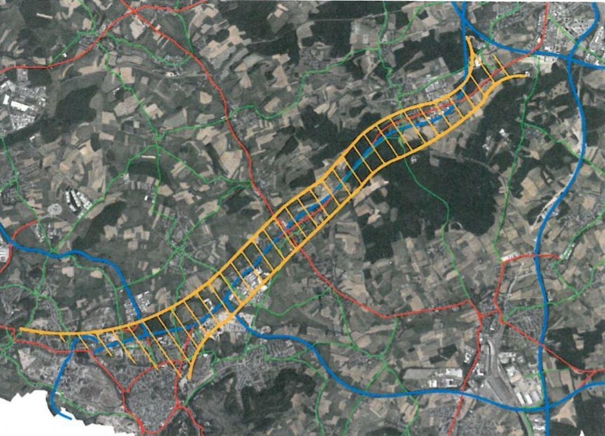 Pour augmenter la cohérence du concept de transports multimodal engendré par le projet de tram rapide entre la capitale et l'agglomération Sud, le champ d'intervention doit être élargi au niveau de toutes les infrastructures de transports.