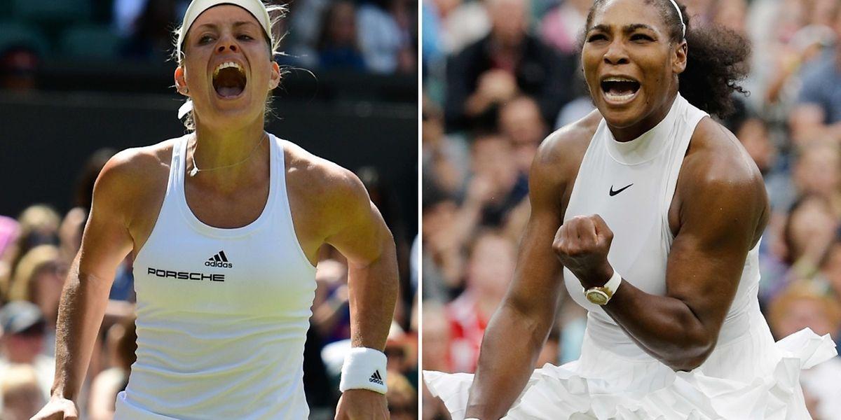 Angelique Kerber est en pleine confiance avant de retrouver Serena Williams qui a une revanche à prendre depuis sa défaite à l'Australian Open.