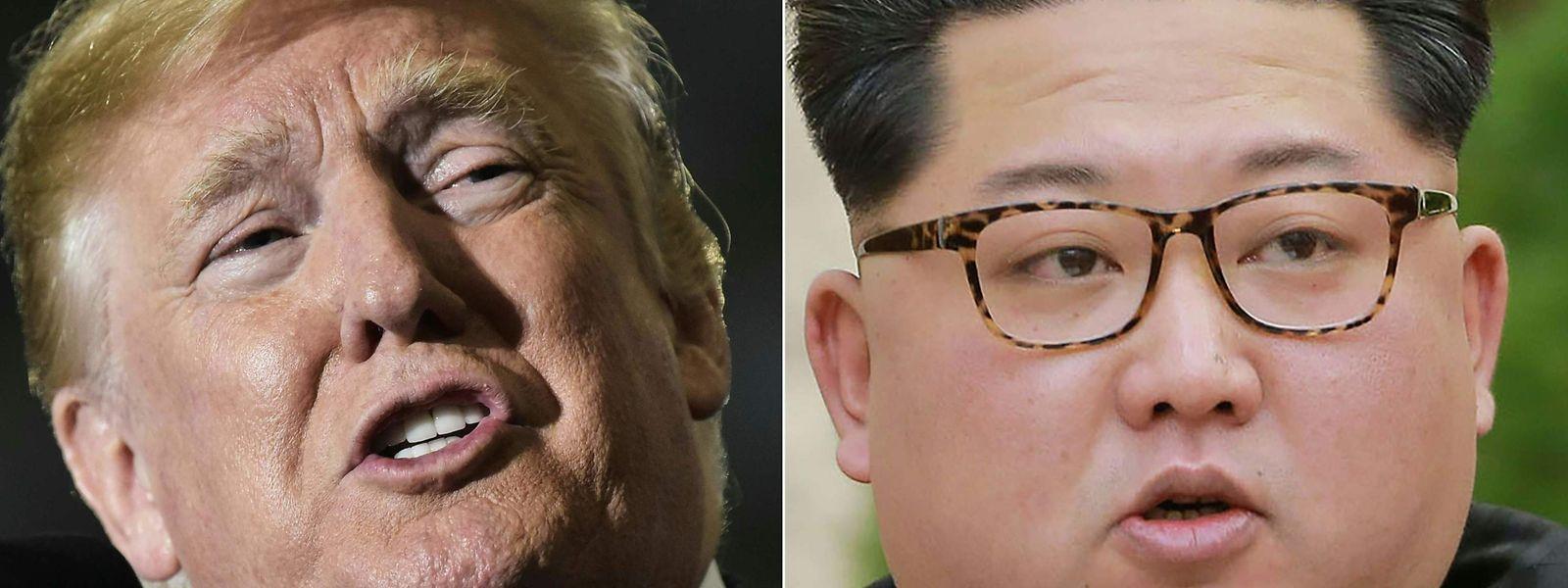 Es wird also doch kein Treffen zwischen Kim und Trump am 12. Juni.geben.