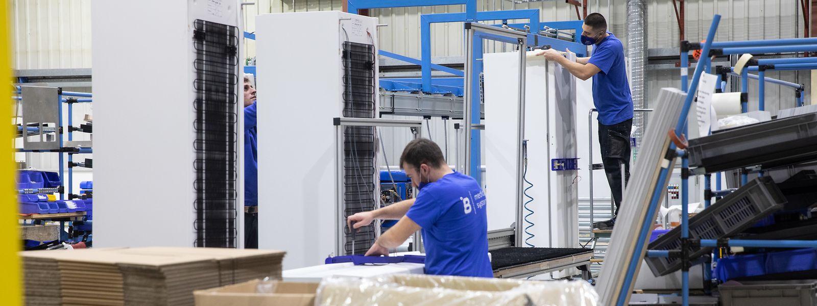 La firme a multiplié les embauches ces dernières semaines pour répondre à la demande mondiale.